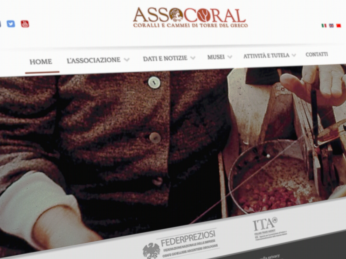 Assocoral - Sito Web