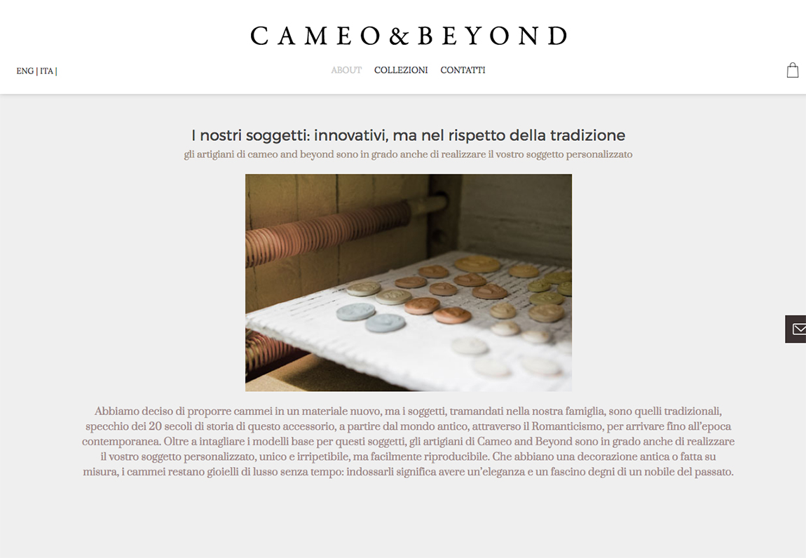 Cameo & beyond - About Page Content