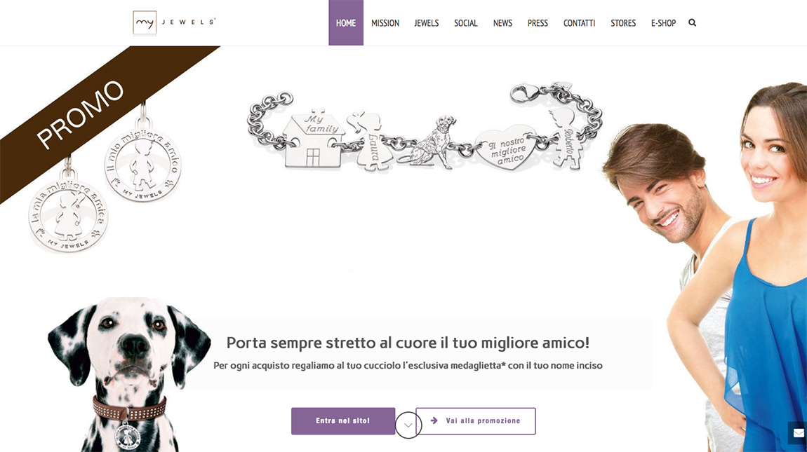 "My Jewels - Progetto ""My Doggy & Friends"""