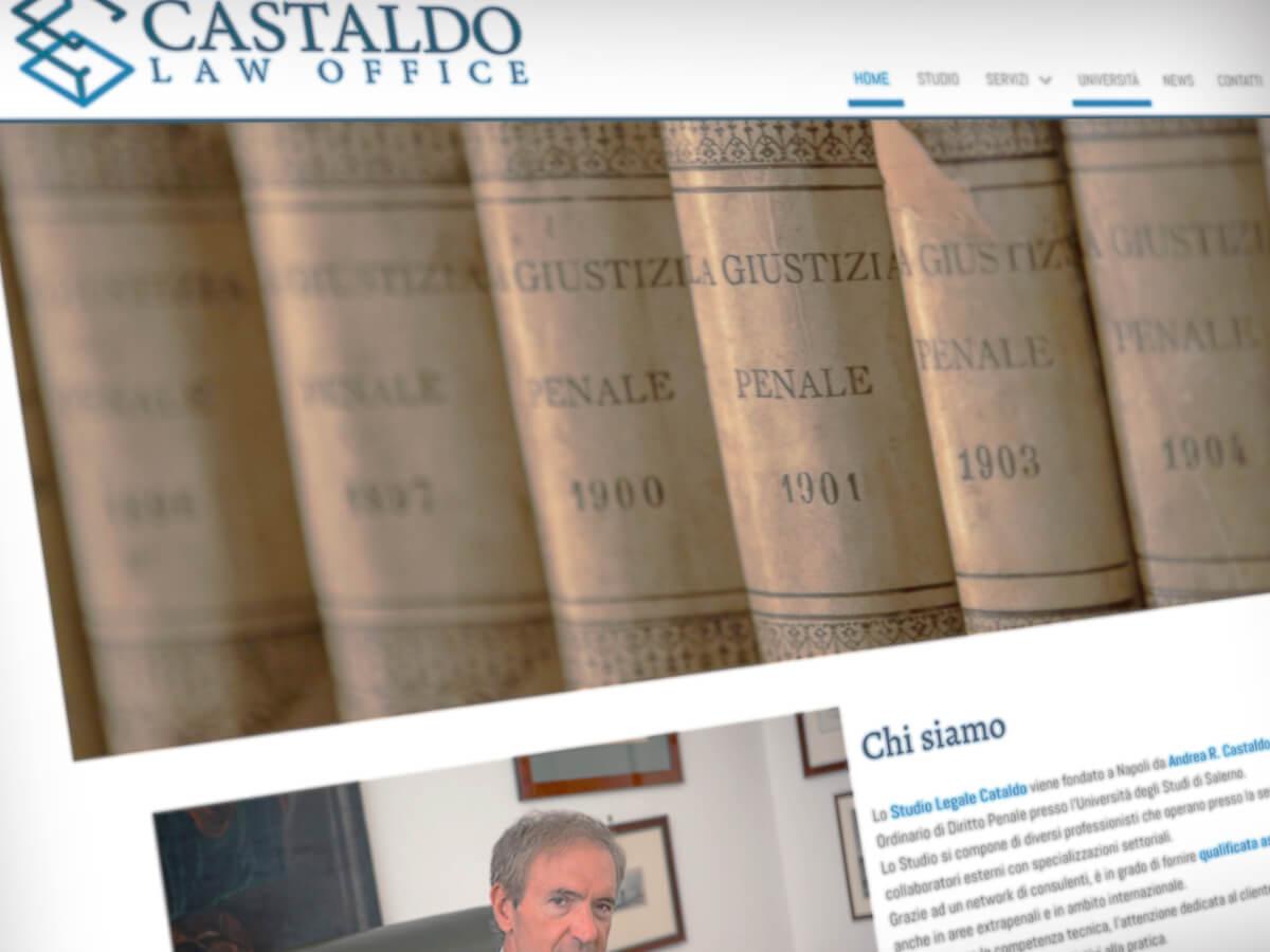 Castaldo Law Office - Sito Web